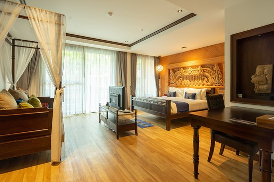Phor Liang Meun Terracotta Arts Hotel: Deluxe room with pool access