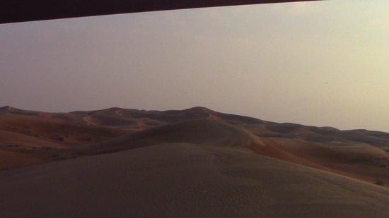 샤 르자 출신의 사파리 사막 사진