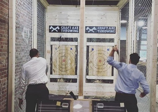 ‪Craft Axe Throwing- Spartanburg‬