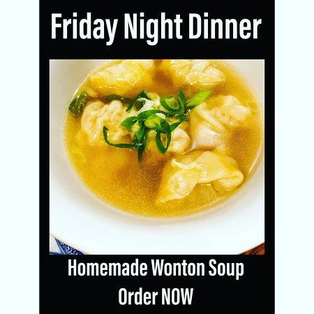 Wanton Soup Homemade