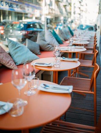 Terrasse au soleil Nice centre  Z Restaurant tapas Food&Share Nice centre  Food and Share, bar à tapas, nice