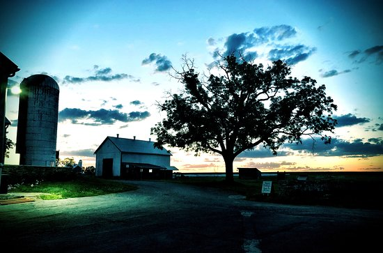 The farm at dusk, nothing more beautiful!