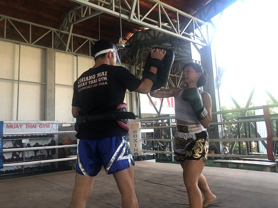 Still be easy easy and happy training days for us at CMMTG. Good muaythai sessions June11  2020