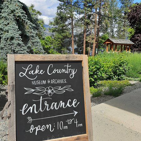 The Lake Country Museum has opened! You can visit this friendly and educational place from Monday to Friday. And if you come to enjoy our patio you don't have to go far to visit the museum.... It's right beside us!! .