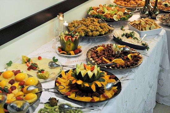 Buffet em dia de Festa