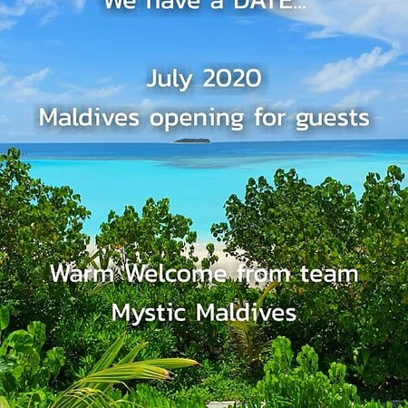 Mathiveri Island: Maldives opening for guests in July 2020