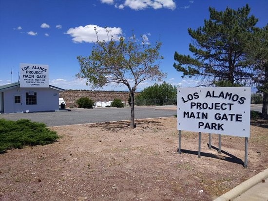 Los Alamos Project Main Gate Park