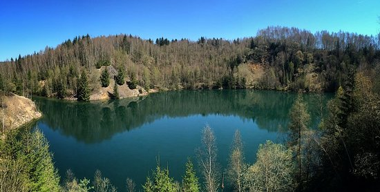 Most beautiful lake in the Czech republic. The best place for trout fishing !