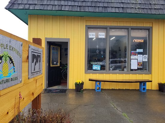 Port Orford, Oregón: Store front off Highway 101