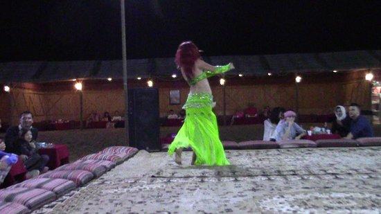 Sahara Arabian Desert Dinner Experience with Transport from Dubai: Dune desertiche da amare