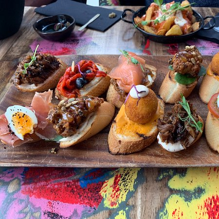 Tapas with Ace style and location.