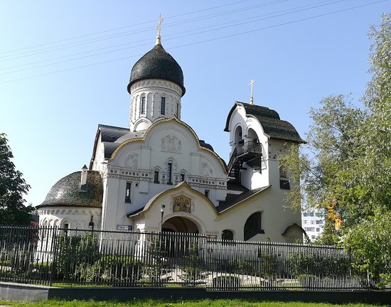 Temple of the Holy Martyrs of Very, Nadezhdy, Lyubovi and Wise Mother of Their Sophia