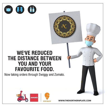 Gurgaon District, India: We've Reduced The Distance Between You  And Your Favourite Food. Taking Orders through Swiggy and Zomato. #Orderonline  Zomato - http://bit.ly/2I50pNX Swiggy - http://bit.ly/2wcgkHz  #northernplate #gurgaon #food #foodporn #foodie #instafood #foodphotography #foodstagram #yummy #instagood #foodblogger #delicious #love #foodlover #like #follow #healthyfood #dinner #foodgasm #homemade #foodies #tasty #photooftheday #cooking #lunch #restaurant #picoftheday #healthy #eat #chef #instagram