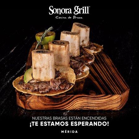 ¡Mérida, ya abrimos y mejoramos la experiencia!. 🤩 Descubre la nueva forma de disfrutar de #SonoraGrill sin preocupaciones, ya que contamos con los protocolos de higiene y sanidad necesarios. 👌🏻