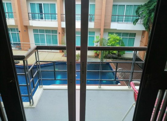 Superior room 2 pers view pool