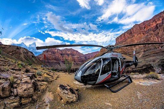 ラスベガスからの、グランドキャニオンデラックスヘリコプターツアー