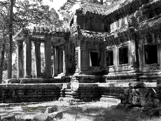 East entrance at Angkor Wat, Siem Reap, Cambodia