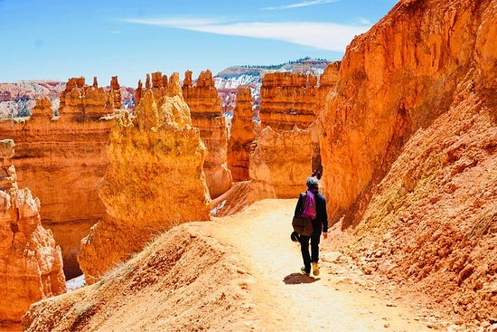 Zion og Bryce Canyon National Parks...