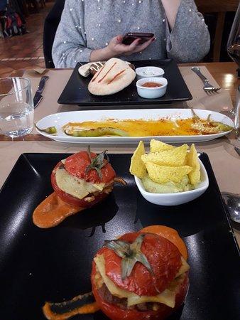 Buena comida y amables
