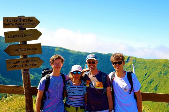 Horta, Portugal: Hiking around Caldeira