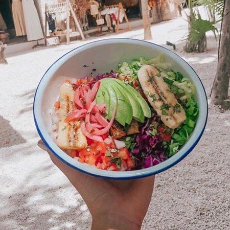 Best vegan bowls in Tulum!