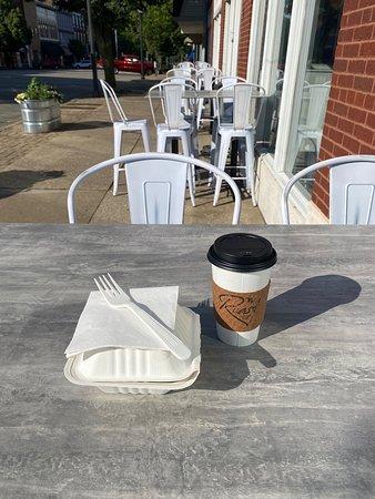 Enjoy a morning outside at Roast!!