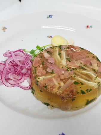 jelly of pork (hungarian dish)