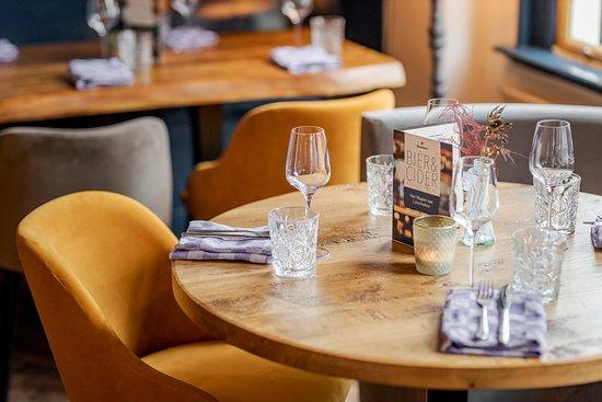 Het speelse / landelijke karakter van het restaurant is wat veel gasten erg aanspreekt.