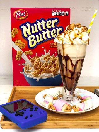 Nutter Butter Milkshake