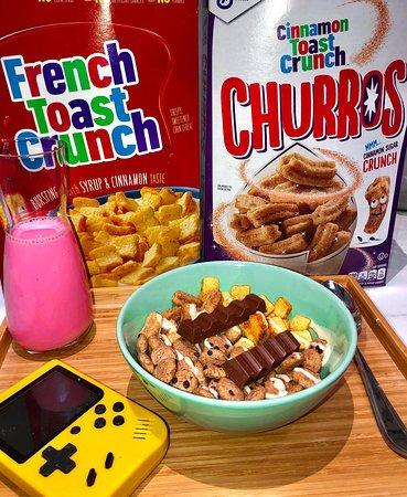 French Toast Crunch / Churros Bowl