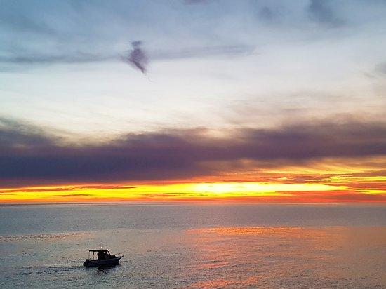 Bel tramonto. Peroj-Istria, Croazia