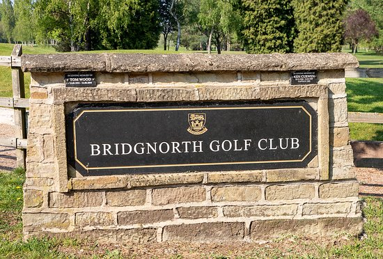 The Welcome to Bridgnorth Golf Club,  The Best Golf Course in Shropshire