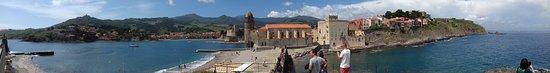 Collioure, France: Vue depuis la chapelle derrière l'église