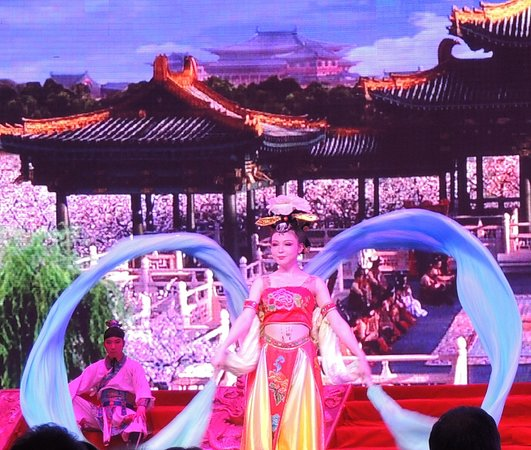 Evening Tour: Xi'an Tang Dynasty Music and Dance Show and Dumpling Banquet: Dancer with ribbons