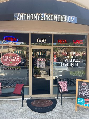 Anthony's Pronto Kitchen offers a variety of Sandwiches, Pastas, Pizzas, Wings, Chicken and more. We also have Vegetarian options.