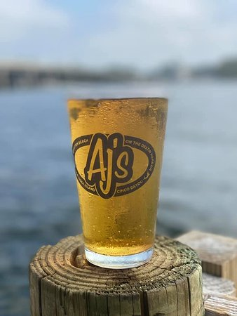 AJ's New El Dorado Beer is now on tap!
