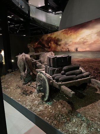 Contemporary war museum