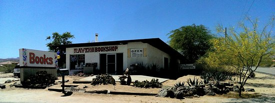Twentynine Palms, Kalifornia: On the Highway, 1 block east from entrance to JTNP Indian Cove.