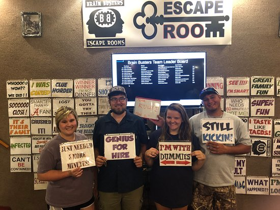 Brain Busters Escape Rooms