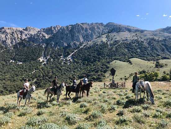 Geraci Siculo, Italy: Madonie mountains on horseback