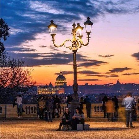 Dal pincio tutta la nostra incantevole Roma