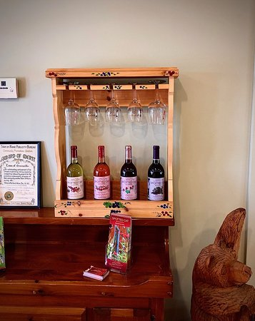 Visit the Spotted Cat Winery when you're in town!