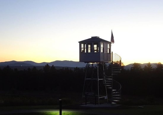Sunset by the Fire Tower