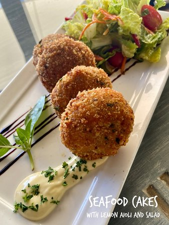 Seafood Cakes Daily Special