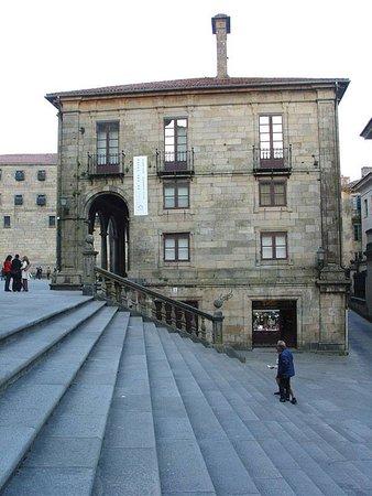 Campus Stellae, fachada sur, a Plaza de Platerias. Pilgrim Spirit