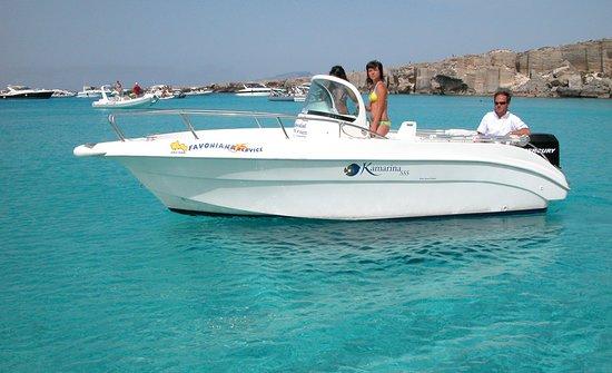Noleggio Barche E Gommoni A Favignana