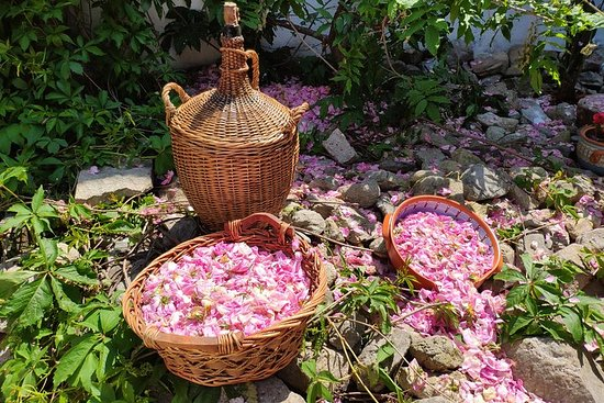 Rose Jam Workshop and Leavening of Authentic Yoghurt in a Traditional...