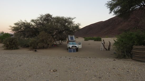 Kaokoland, Namibia: Campsite