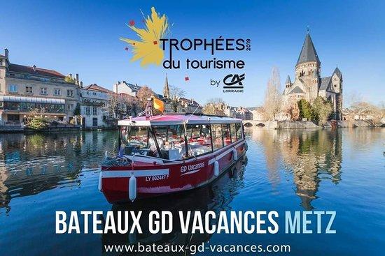 La Compagnie des Bateaux de Metz (By Bateaux GD Vacances)