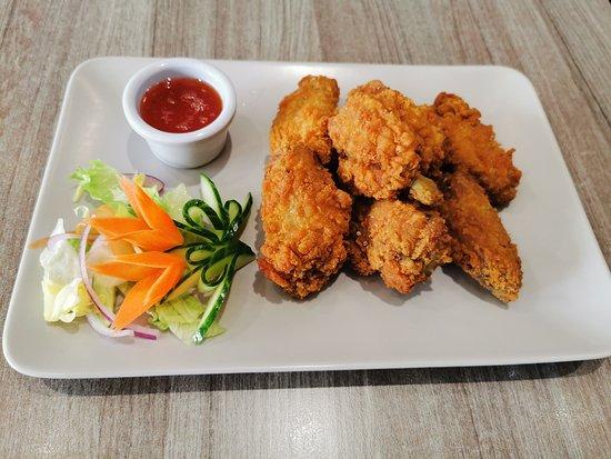 Drumcondra, Irlande: Crispy Chicken Wings